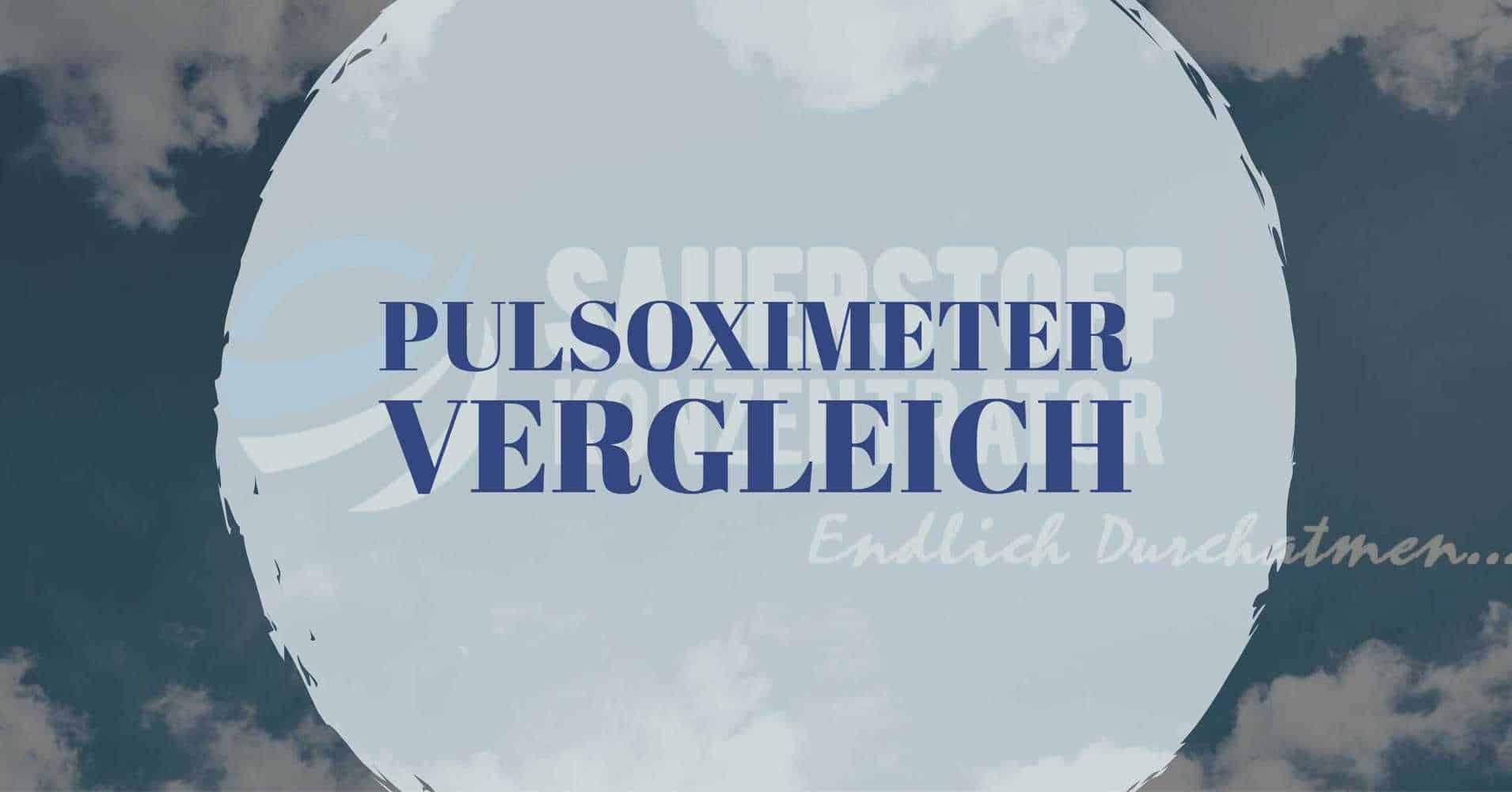 Titelpicture Pulsoximeter Test