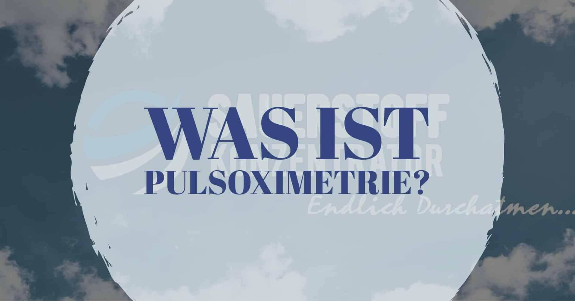 Pulsoximetrie Titelbild